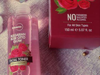 StBotanica Bulgarian Rose Otto Glow Deep Hydration Facial Toner -Amazing rose fragrance!-By mizbha378