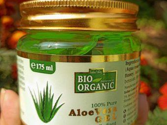 Indus Valley Bio Organic 100% Pure Aloe Vera Gel -Must Try this Aloe vera gel-By manpreet1