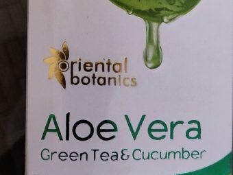 Oriental Botanics Aloe Vera, Green Tea & Cucumber Face Toner pic 2-A great face toner-By riya_agrawal