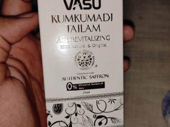 Vasu Age Revitalizing Kumkumadi Tailam pic 2-Premium Product-By purav242
