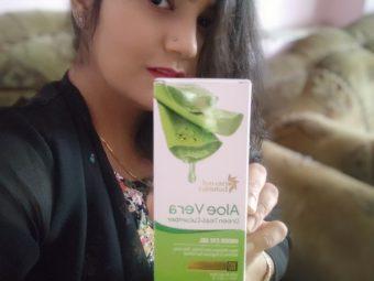 Oriental Botanics Aloe Vera Green Tea & Cucumber Under Eye Gel pic 1-Best for dark circles-By shivani_soni