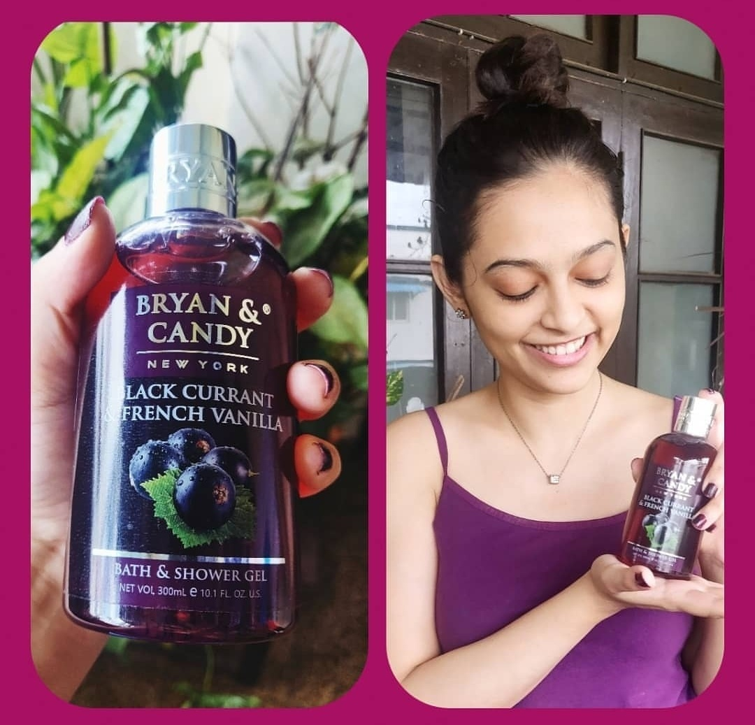Bryan & Candy New York Black Currant and French Vanilla Shower Gel pic 2-Bryan and Candy- The Precious Purple Beauty-By vasundhara.30