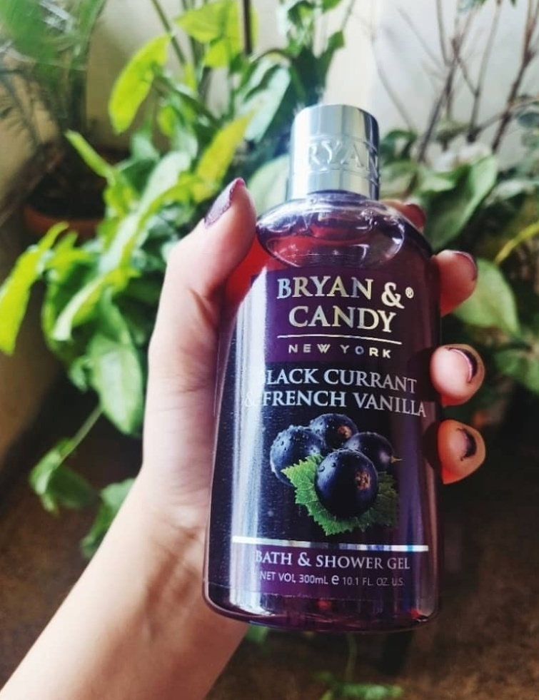 Bryan & Candy New York Black Currant and French Vanilla Shower Gel pic 1-Bryan and Candy- The Precious Purple Beauty-By vasundhara.30