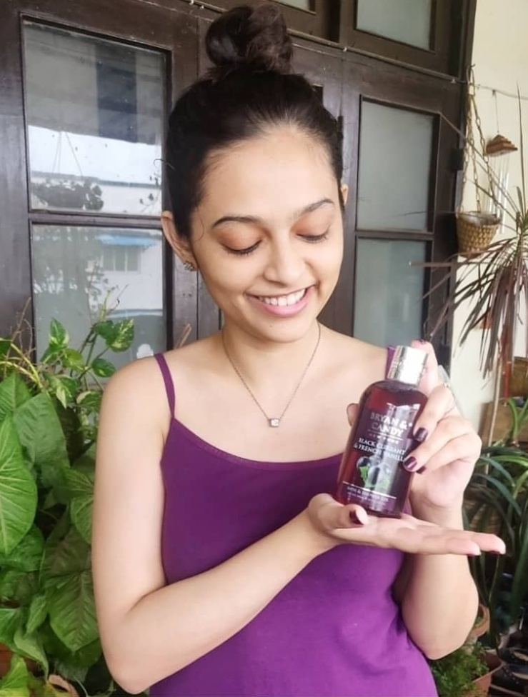 Bryan & Candy New York Black Currant and French Vanilla Shower Gel-Bryan and Candy- The Precious Purple Beauty-By vasundhara.30-3