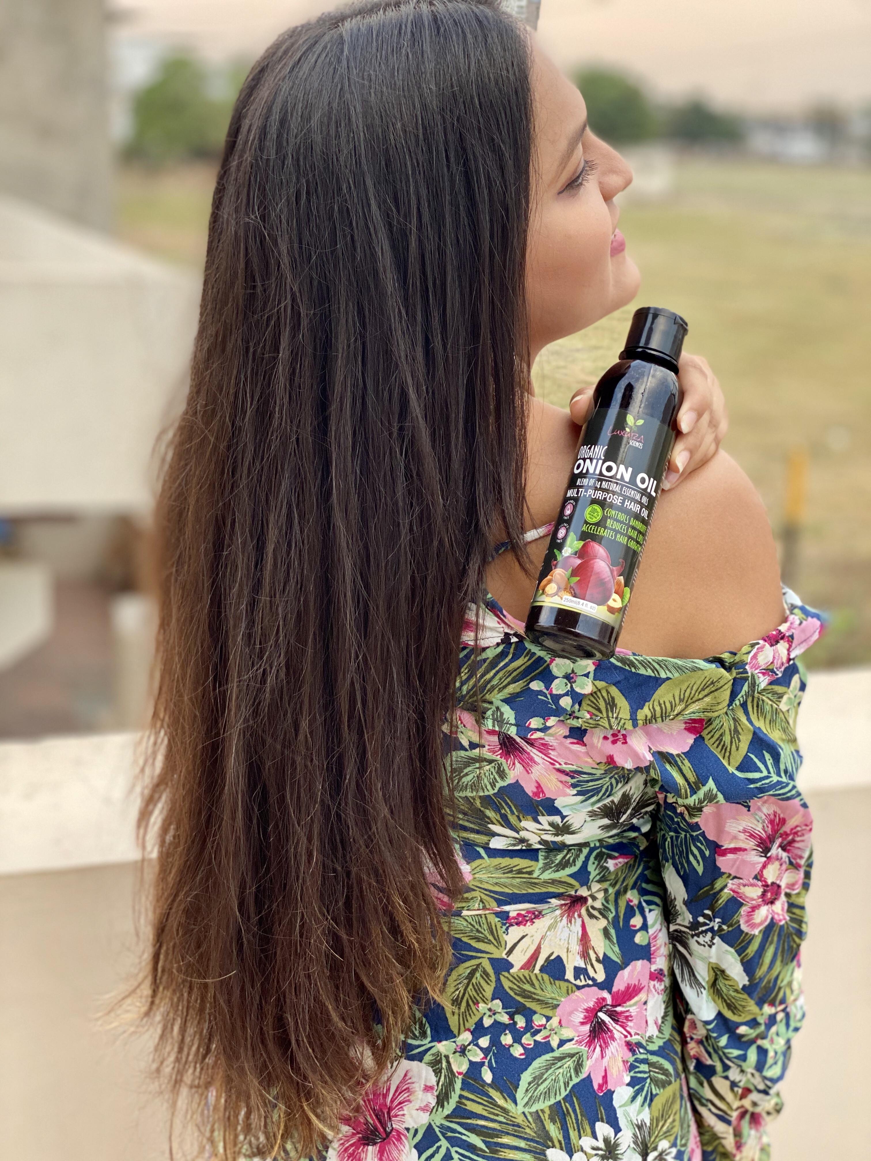 Luxura Sciences Onion Hair Oil 250 ml-Good hair oil-By mansigandhi98-2