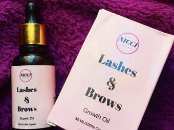Nicci Lashes & Brows Growth Oil -Thick and Curvy Lashes-By maahi4563