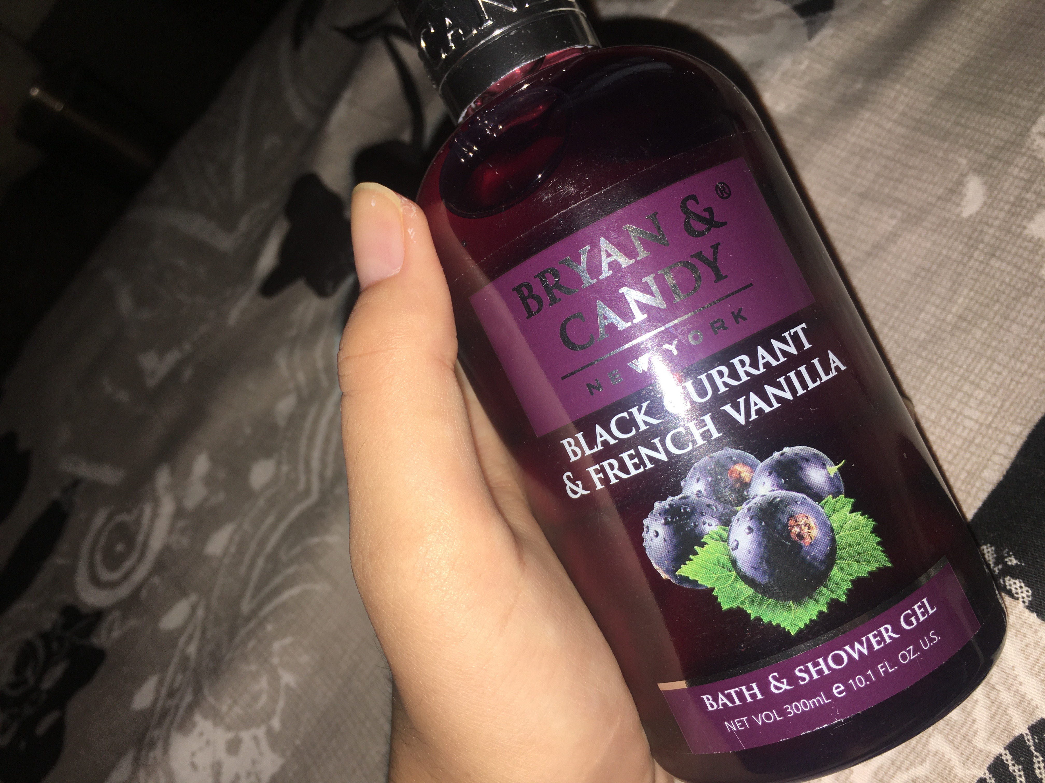 Bryan & Candy New York Black Currant and French Vanilla Shower Gel-So obsessed with it!-By muskan_gangwani