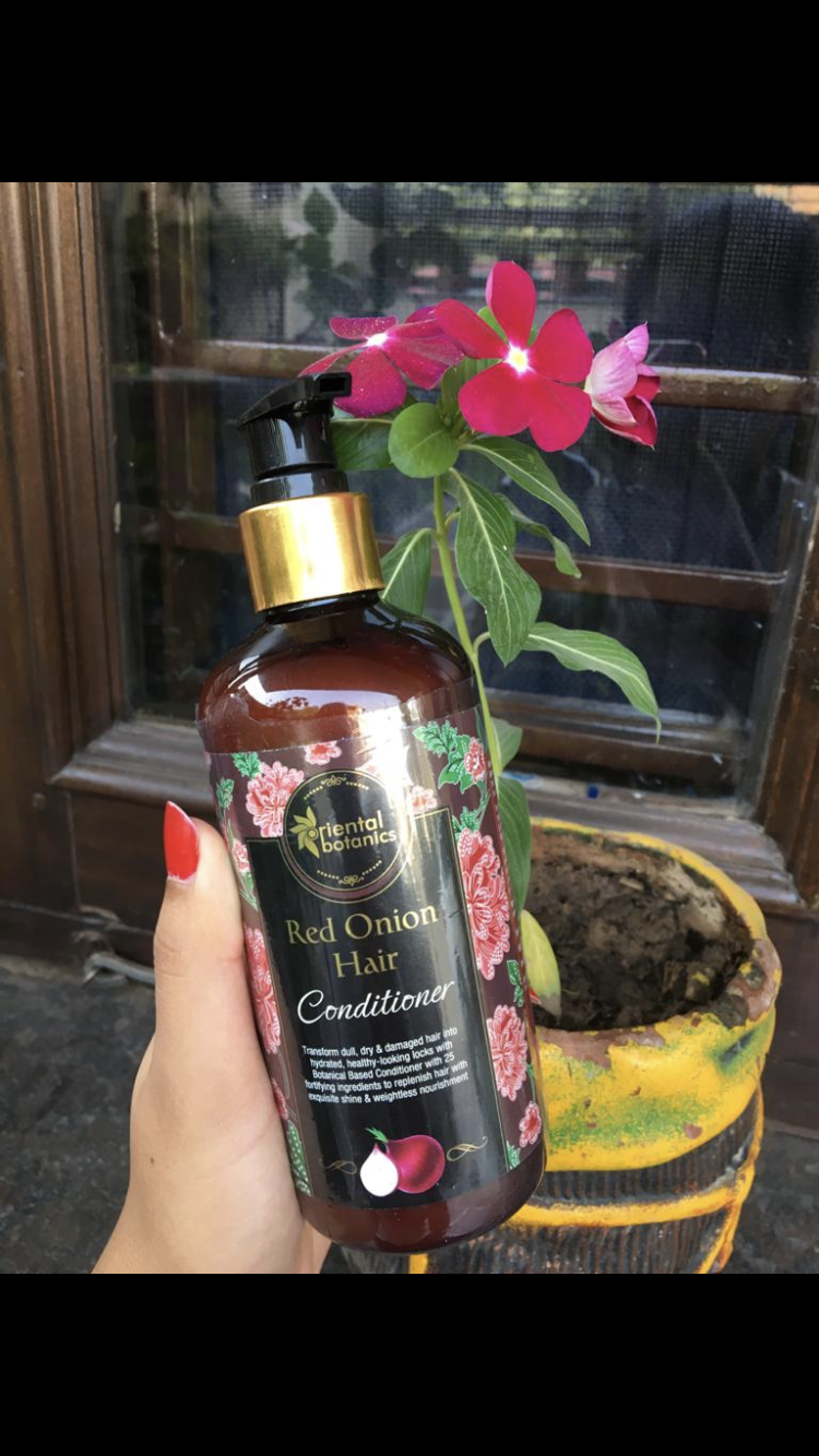 Oriental Botanics Red Onion Hair Conditioner-One of the finest conditioners-By foodstoriesbysanya-5