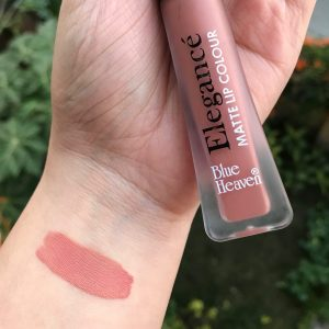 Blue Heaven Elegance Matte Lip Color pic 1-Not upto the mark-By swatchifyme