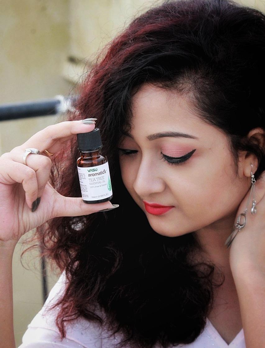 Vasu Aromatics Tea Tree Essential Oil-Very Much Effective!-By debolina_sen-1