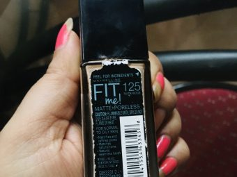 Maybelline New York Fit Me Matte + Poreless Foundation -Fit Me.!!!-By lata_