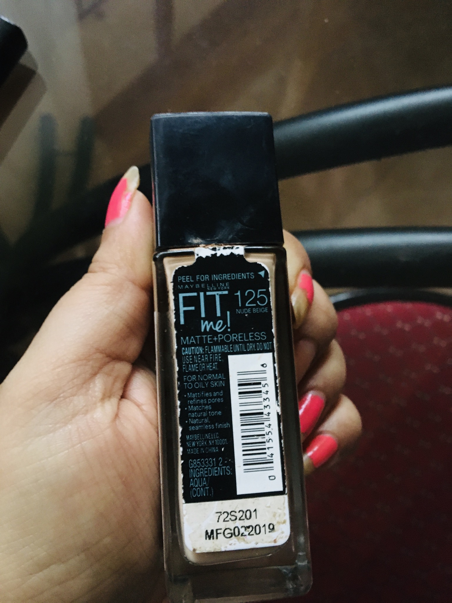 Maybelline New York‎ Fit Me Matte + Poreless Foundation -Fit Me.!!!-By lata_