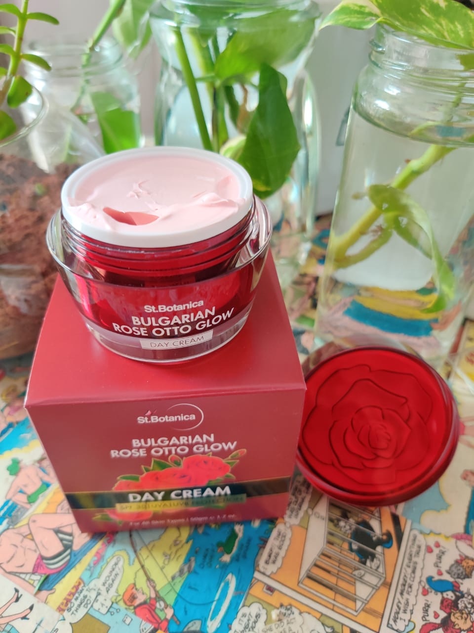 St.Botanica Bulgarian Rose Otto Glow Day Cream-YOU NEED TO TRY THIS TO BELIEVE IT!!-By shwethanag27