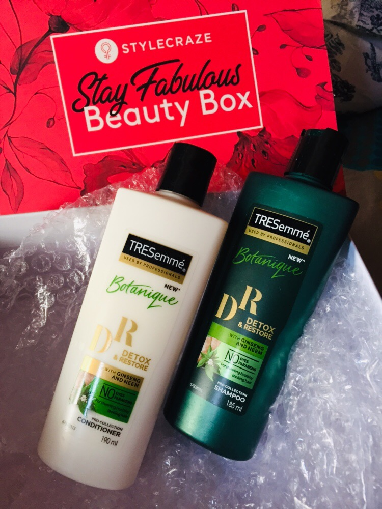 Tresemme Botanique Detox & Restore Shampoo-Good coloured treated hair-By letscook_priya
