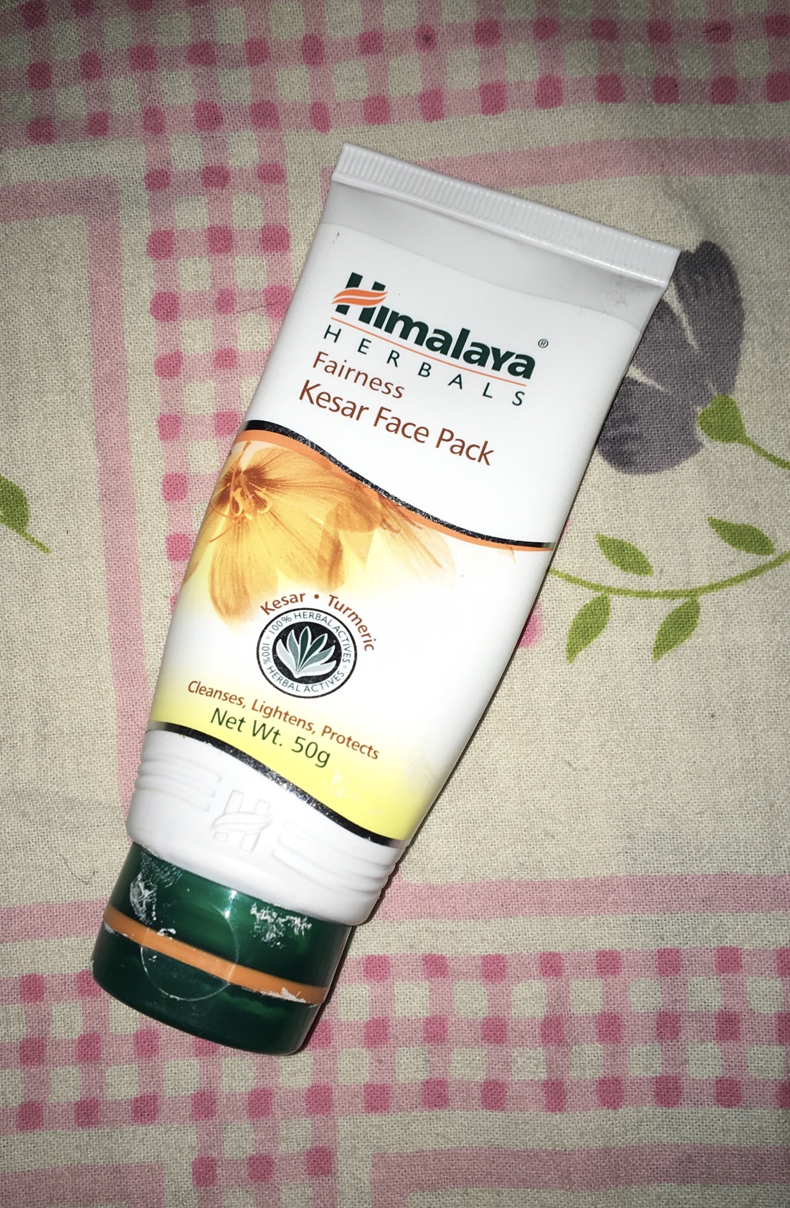 Himalaya Herbals Fairness Kesar Face Pack-Himalaya Kesar Face Pack-By lata_