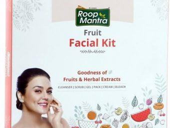 Roop Mantra Fruit Facial Kit -Mask and make it happen-By vandanabhatia