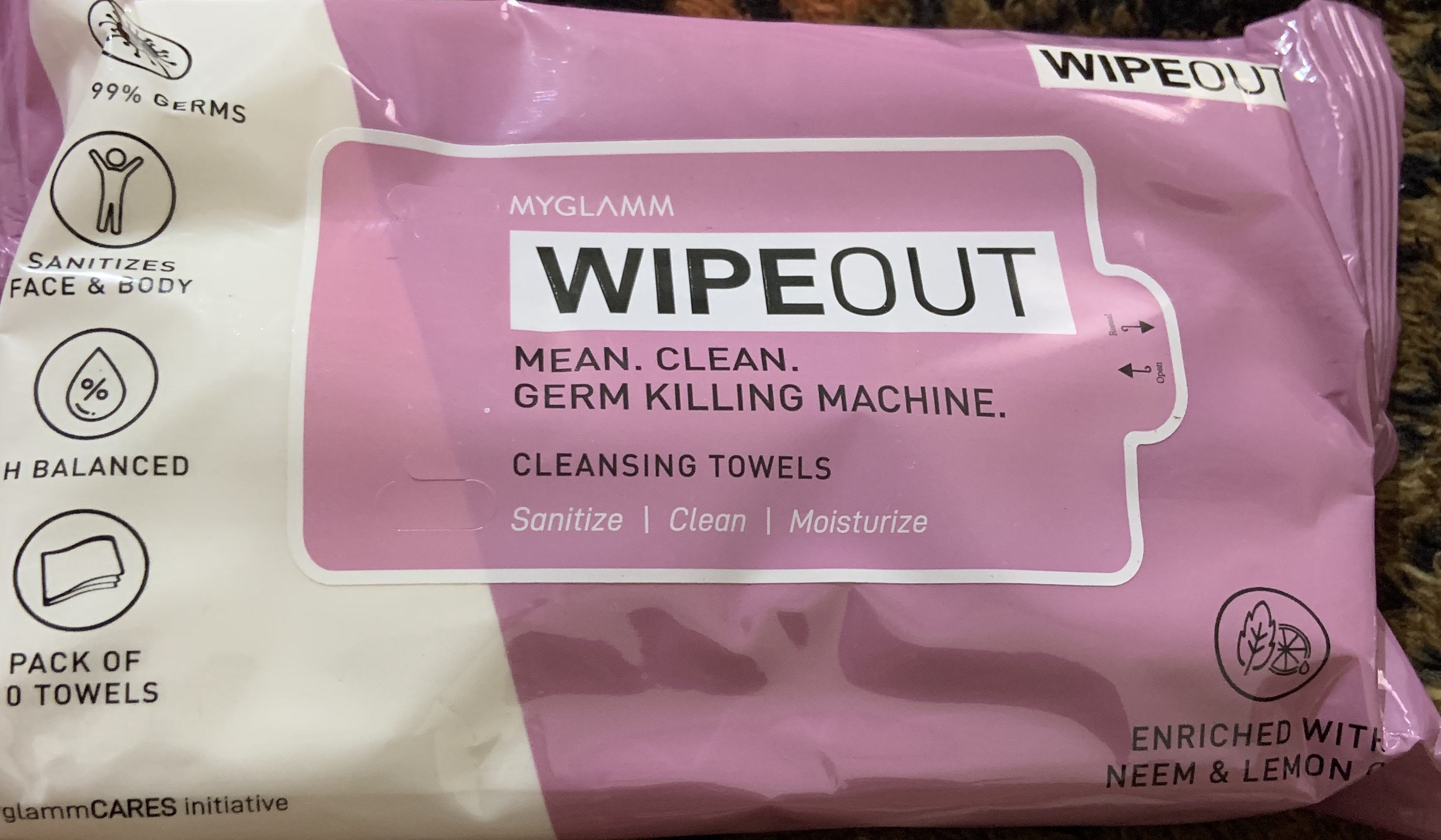 MyGlamm Wipeout Cleansing Towels-Perfect towels-By angitha