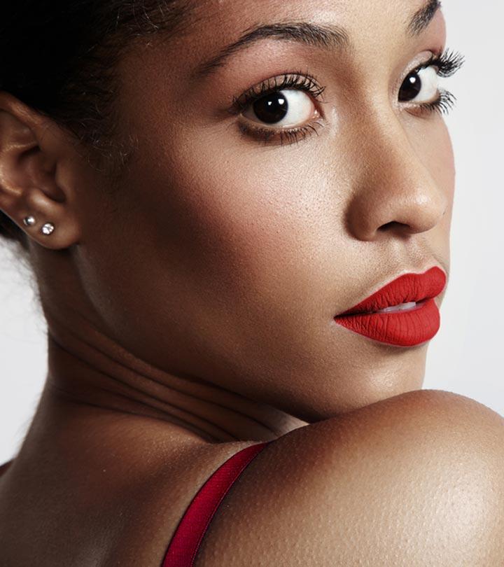 9 Best Red Lipsticks For Dark Skin