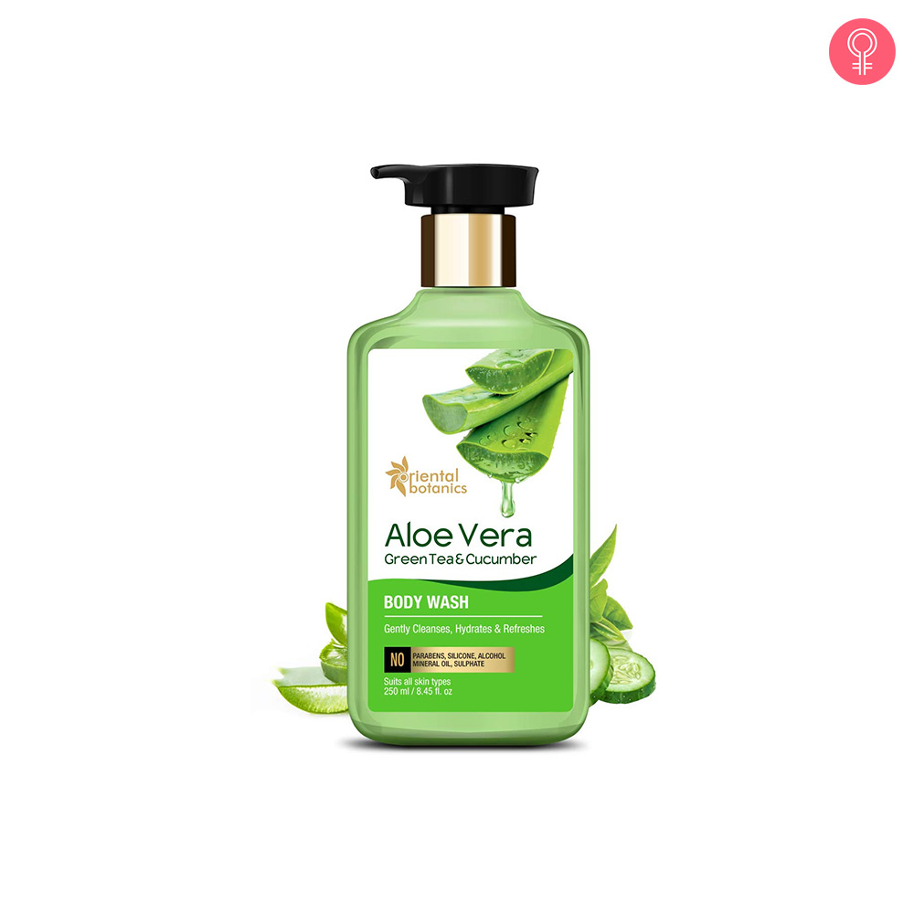 Oriental Botanics Aloe Vera Green Tea & Cucumber Body Wash