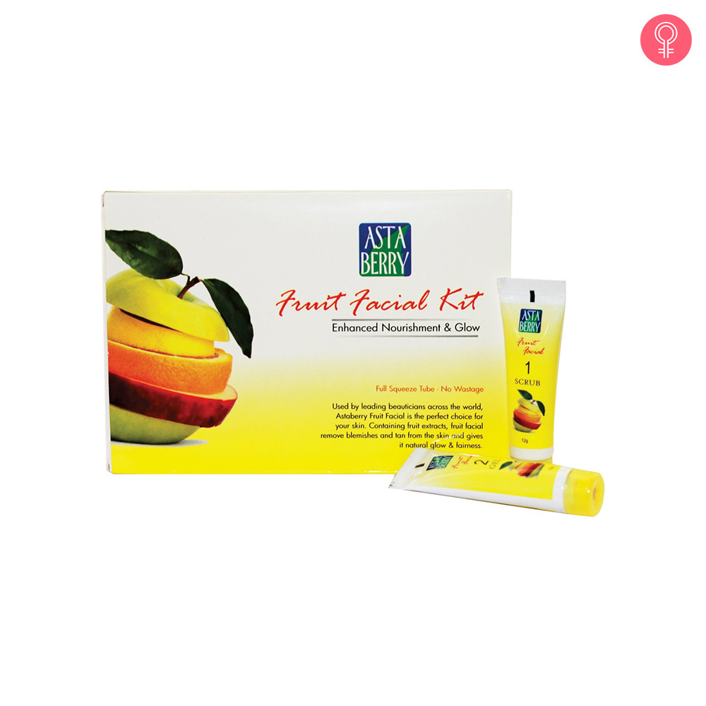 Astaberry Fruit Facial Kit (Mini)
