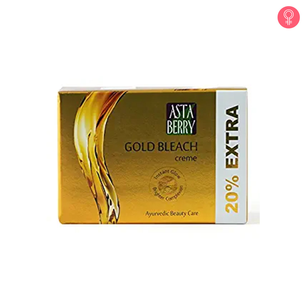 Astaberry Gold Bleach Creme