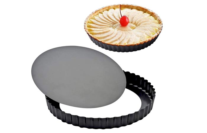 Attmu Non-Stick Removable Loose Bottom Tart Pan