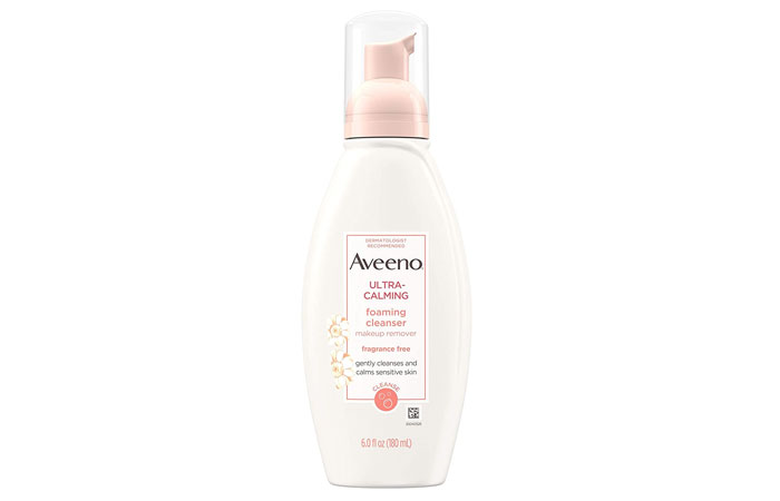 Aveeno Active Naturals Ultra Calming Foaming Cleanser