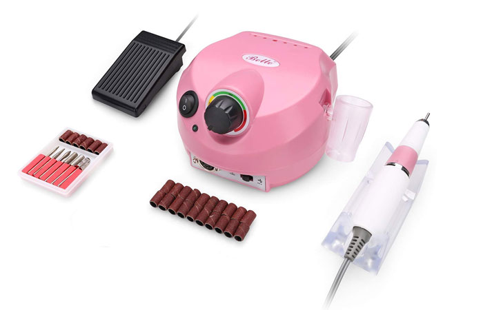 Belle Professional Electric Manicure Nail Drill File Machine Set