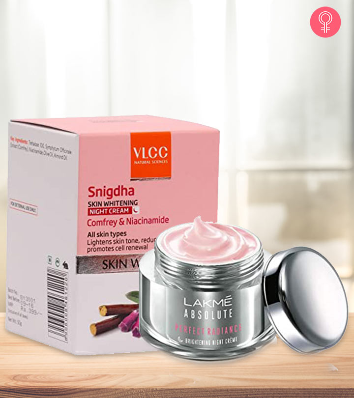 Best Skin Whitening Night Creams In Hindi