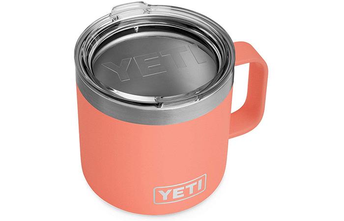 Best Travel Coffee Mug: YETI Rambler Mug