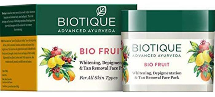 Biotic Bio Fruit Whitening and Depigmentation