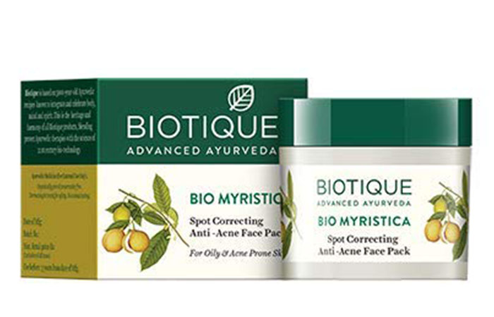 Biotic Bio Myristica Spot Correcting Anti-Acne Face Pack
