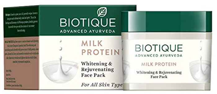 Biotic Milk Protein Whitening and Rejuvenating Face Pack