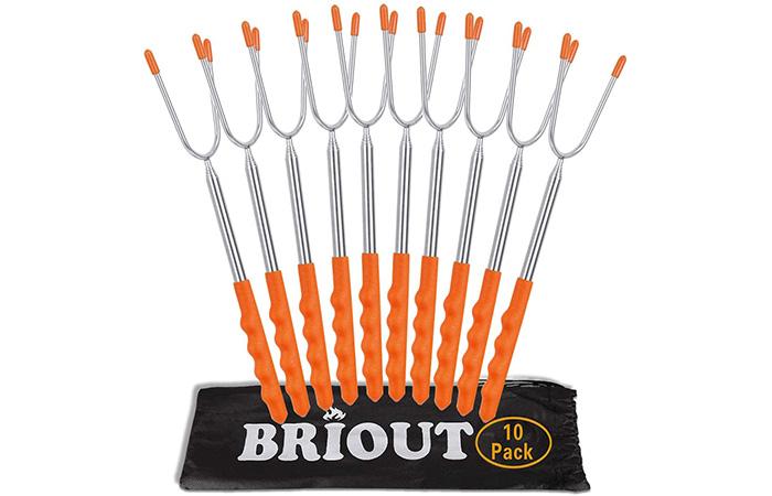 Briout Marshmallow Roasting Sticks