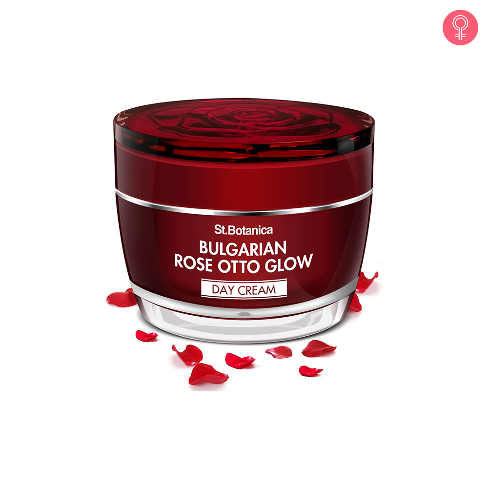 St.Botanica Bulgarian Rose Otto Glow Day Cream