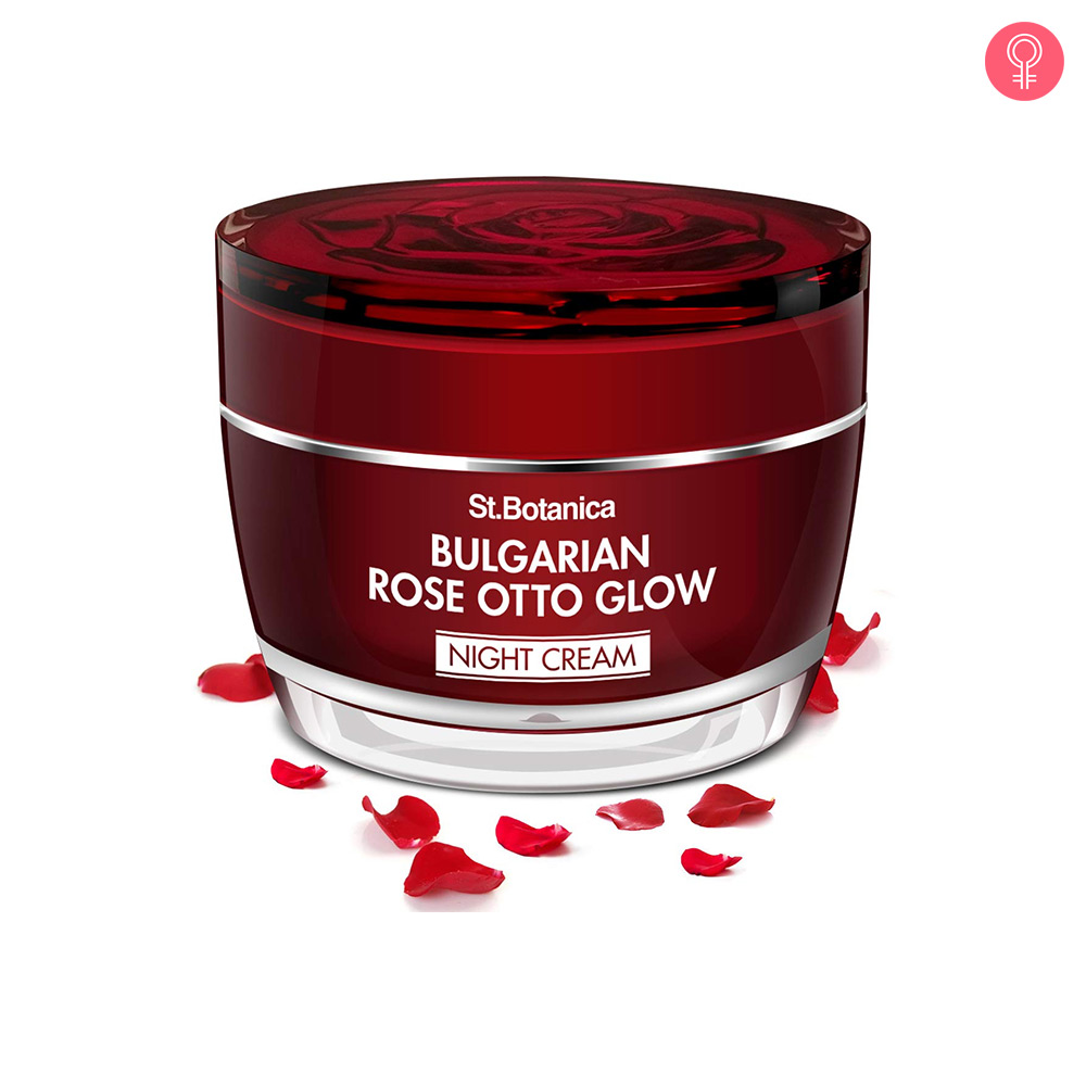 St.Botanica Bulgarian Rose Otto Glow Night Cream