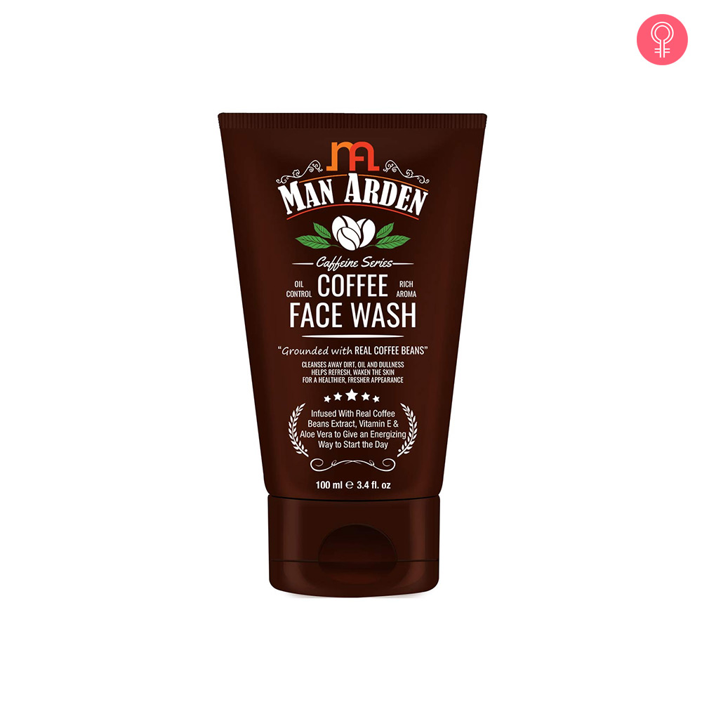 Man Arden Recharge Coffee Face Wash