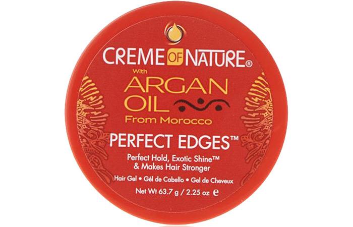 Creme Of Nature Argan Oil Perfect Edges Hair Gel