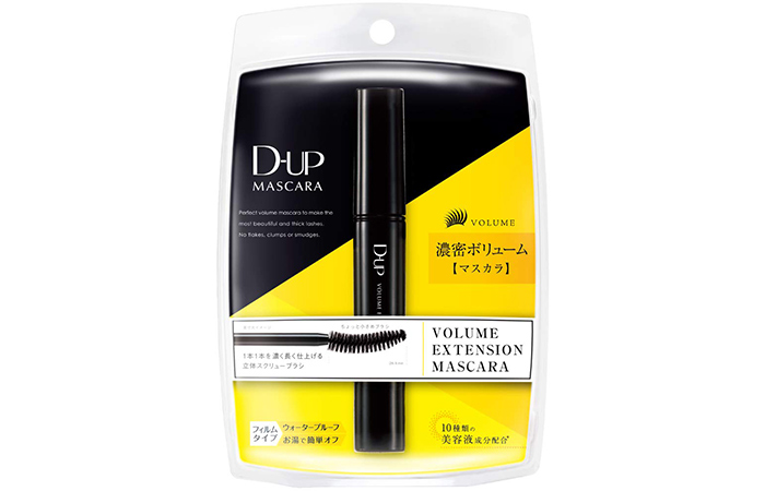 D-UP Volume Extension Mascara - Black