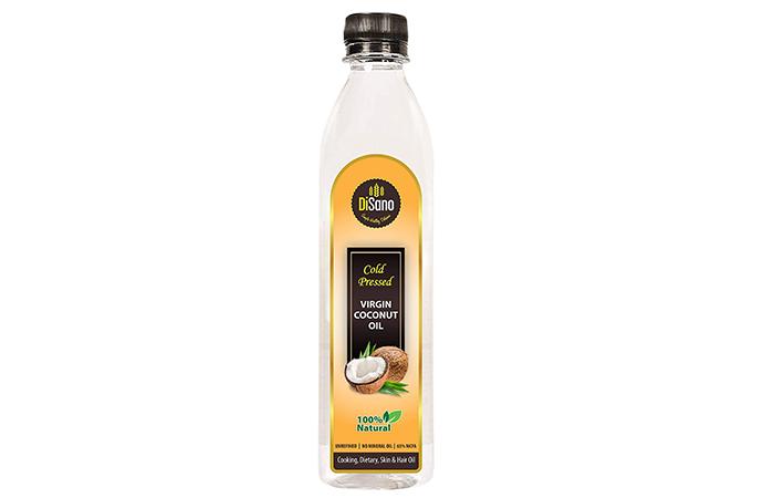 DeSeno Cold Press Virgin Coconut Oil Bottle