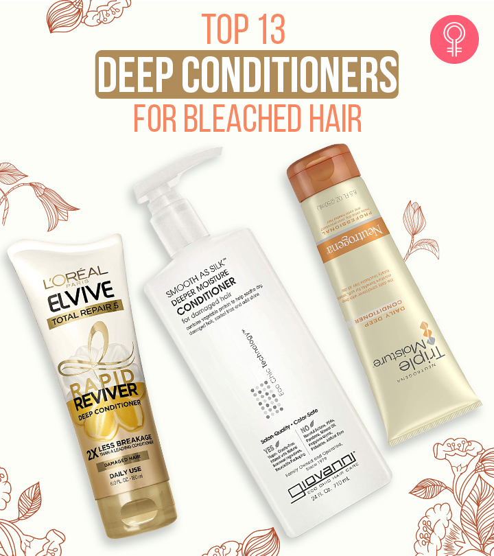 13 Best Deep Conditioners For Bleached Hair