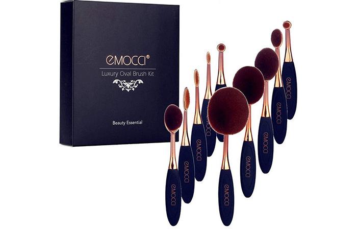 EMOCCI Luxury Oval Brush Set