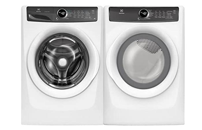 Electrolux White Front Load Laundry Pair
