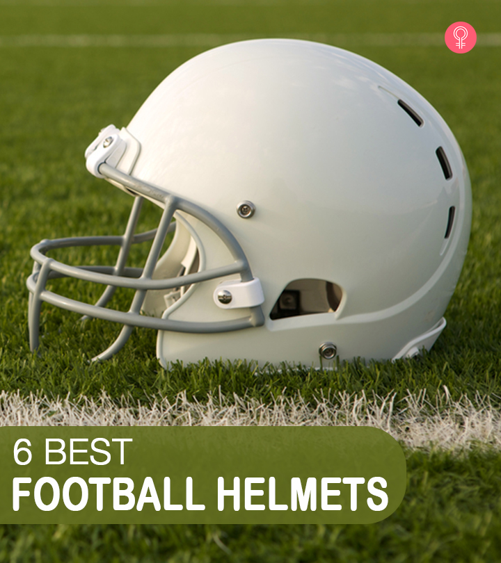 6 Best Football Helmets To Prevent Concussions