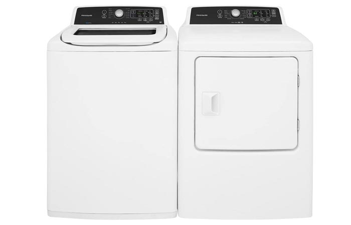 Frigidaire White Top Load Laundry Pair