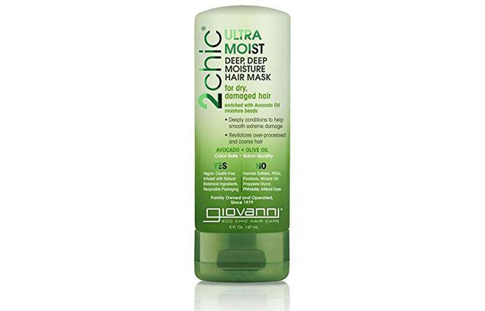 Giovanni Organic Touchaic Olive Oil An Avocado Ultra Moist Deep Moisture Hair Mask