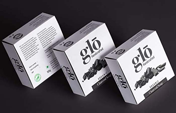 Glow Handcrafted Organic Charcoal Soap