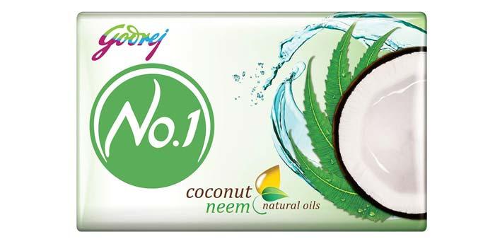 Godrej Number 1 Coconut And Neem Soap