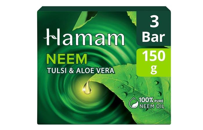 Hamam Neem Tulsi and Aloe Vera Soap Bar