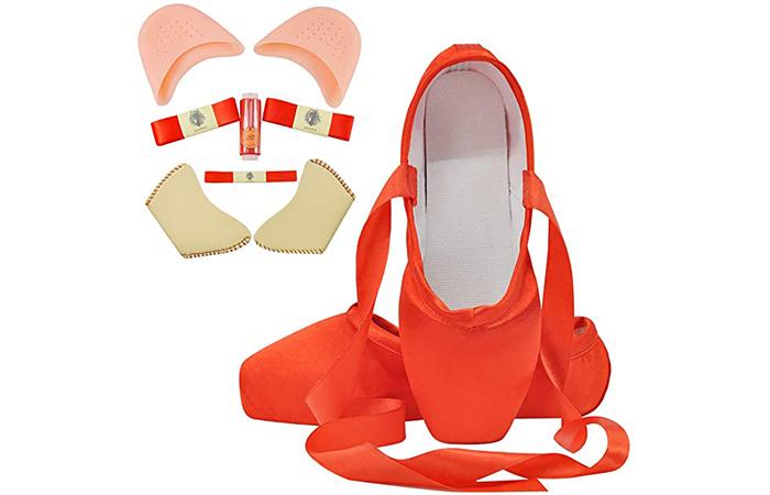 IJONDA Adult Pointe Shoes